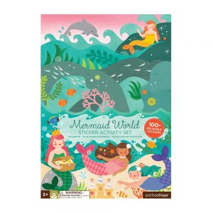 ADHESIVOS REMOVIBLES MERMAID WORLD