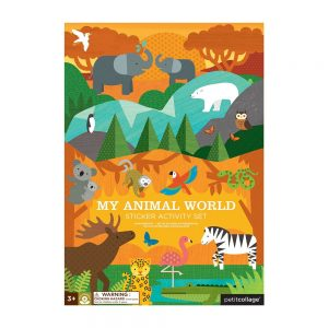 ADHESIVOS REMOVIBLES MUY ANIMAL WORLD