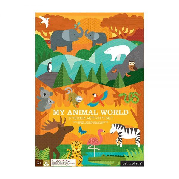ADHESIVOS REMOVIBLES MUY ANIMAL WORLD