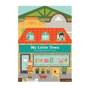 ADHESIVOS REMOVIBLES MY LITTLE TOWN