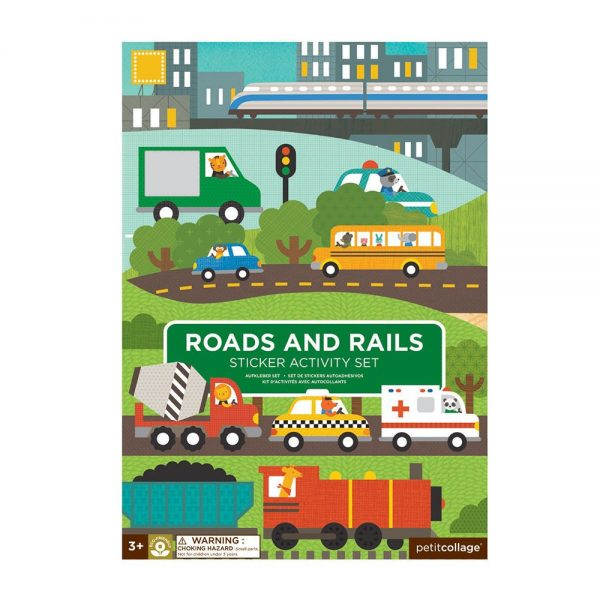 ADHESIVOS REMOVIBLES ROADS AND RAILS