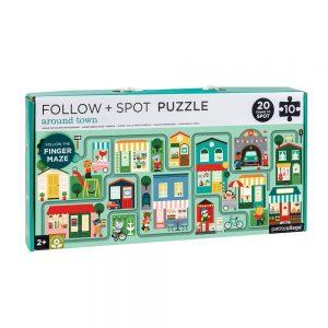 Puzzle Sigue y Observa BUSY TOWN