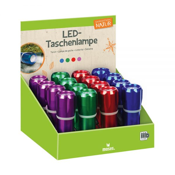 LINTERNA POWER LED