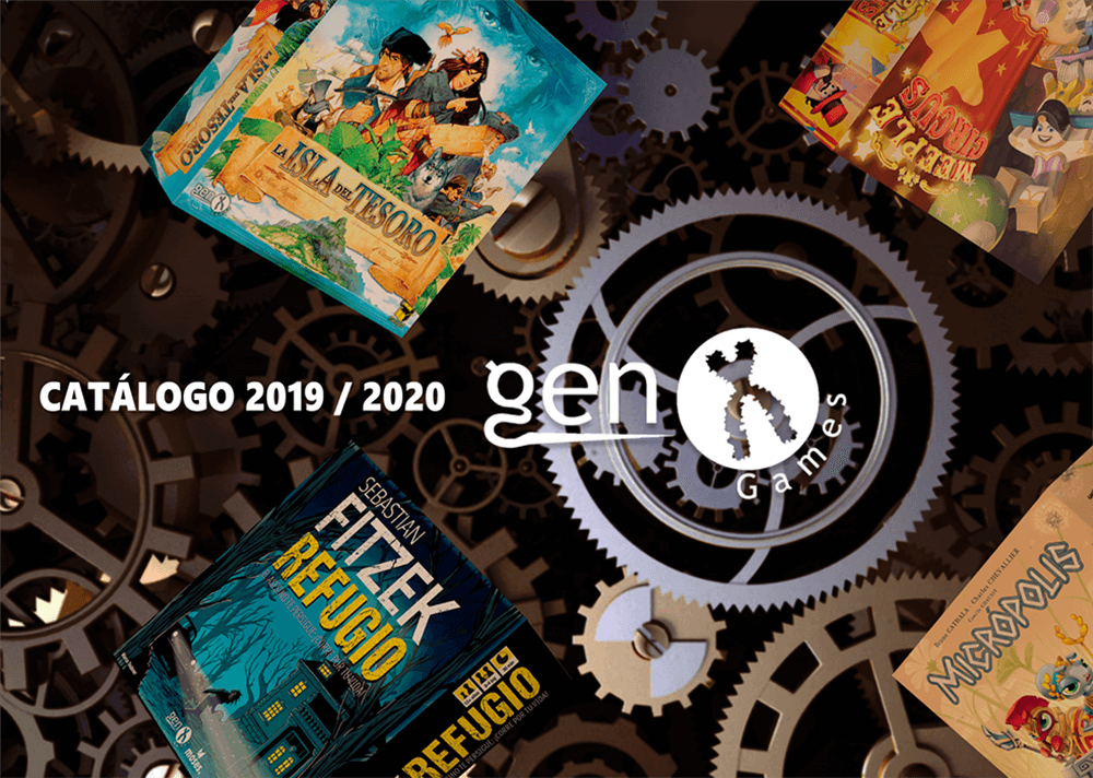 Portada catálogo Gen X Games 2020