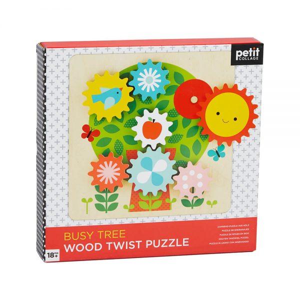 Puzzle Twist de madera Arbol