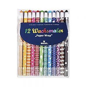 Pinturas de cera 12 colores (8 uds)