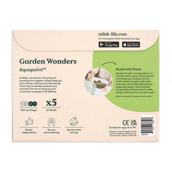 Aquapaint : Garden Wonders