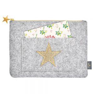 Bolsa de Fieltro con Estrella