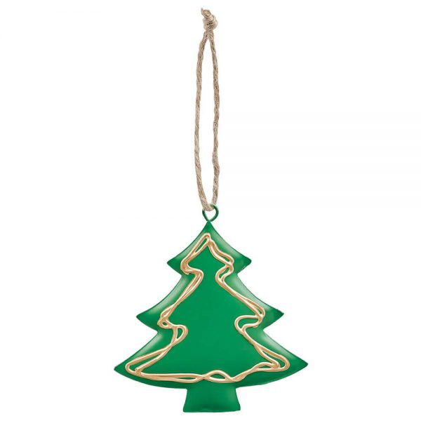 Adornos Navidad metálicos (18)