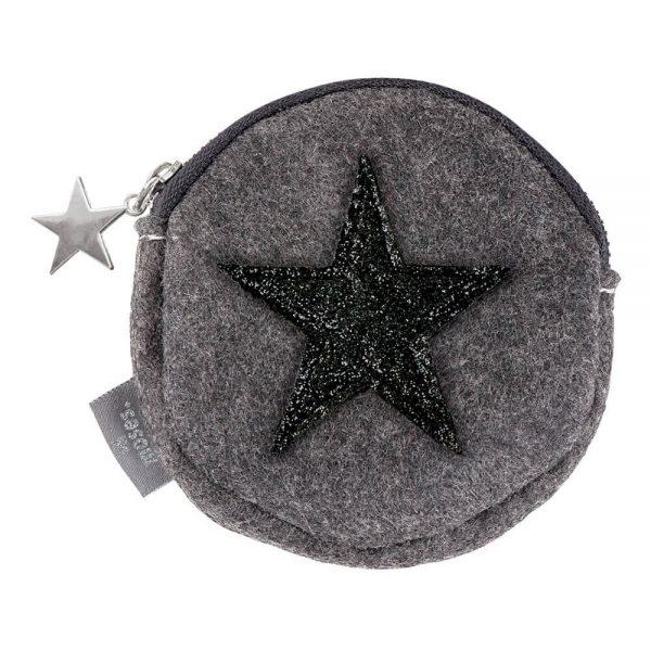 Monederos fieltro Estrella Navidad (16)