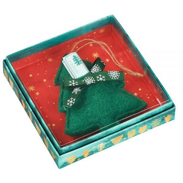 Colgante Navidad con bolsillo (12)