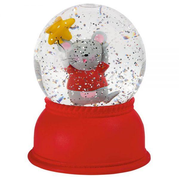 Bola de Nieve con luz Ratoncito
