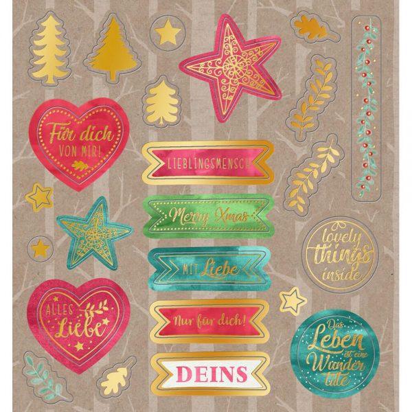 Libro de pegatinas Navidad (6)