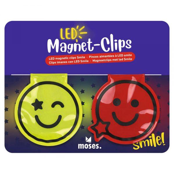 Clips Magnéticos SMILE con LED (12)