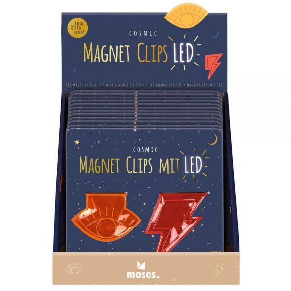 Display set 2 Clips magnéticos (12)