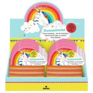Display Goma twist Rainbow (12)