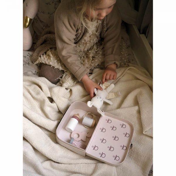 Maleta Accesorios Bebé Conejo