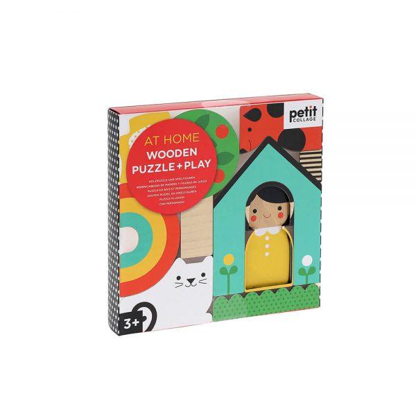 Mini Puzzle madera - En Casa